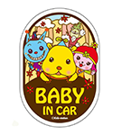 BABY IN CAR(黒)